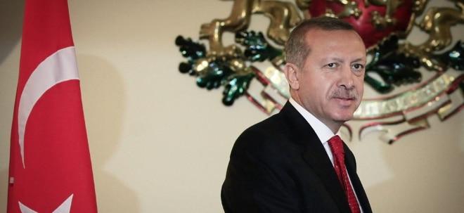 Erlass: Erdogan ernennt sich selbst zum Chef von türkischem Vermögensfonds | Nachricht | finanzen.net