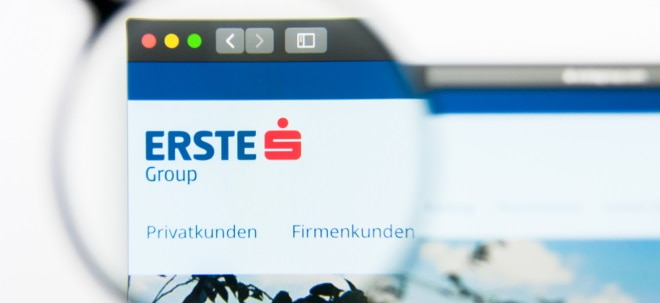Günstiges Risikoumfeld: Erste Group legt operativ zu und hebt Dividende an | Nachricht | finanzen.net
