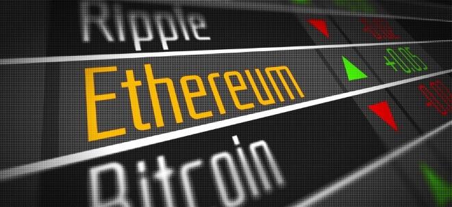 Zweistelliger Kurssturz: Bitcoin auf Rekordrally - Warum fällt eigentlich Ethereum? | Nachricht | finanzen.net