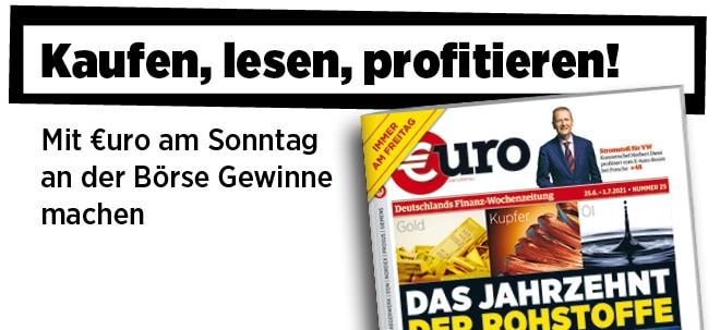 Jetzt immer freitags: Neue Ausgabe von €uro am Sonntag: Das Jahrzehnt der Rohstoffe - die Mega-Chance! | Nachricht | finanzen.net