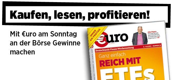 Freitags neu im Handel: Neue Ausgabe von €uro am Sonntag: Ganz einfach reich mit ETFs - 25 Tipps zum nachhaltigen Vermögensaufbau | Nachricht | finanzen.net