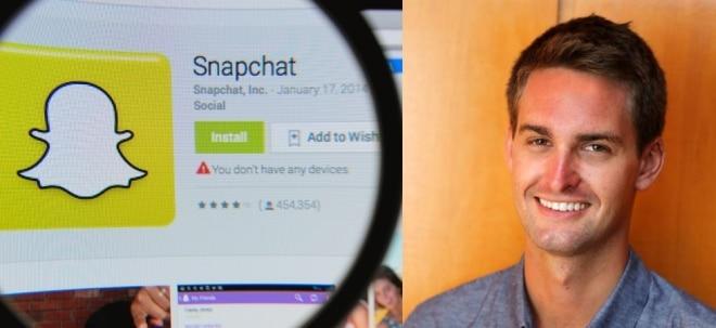 Milliardär mit 25: Snapchat CEO Evan Spiegel: Vom Studienabbrecher zum jüngsten Milliardär der Welt | Nachricht | finanzen.net