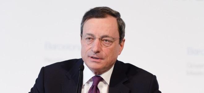 Trotz Wirtschaftswachstum: EZB-Präsident Draghi betont Notwendigkeit lockerer Geldpolitik   Nachricht   finanzen.net
