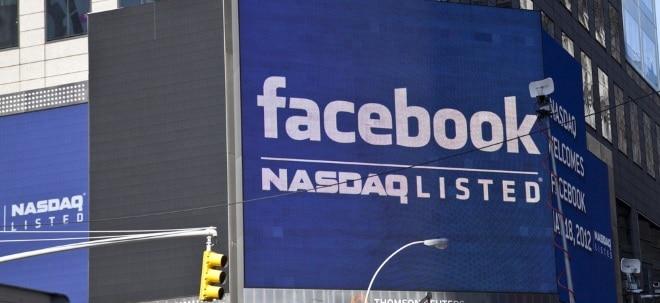 Facebook-Aktie aktuell: Facebook steigt