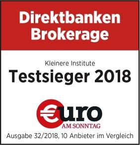 Testsieger Online Broker Vergleich 2018