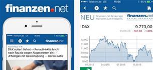 In eigener Sache: Neu in der finanzen.net App für iOS: Mit den kostenlosen Kurs-Alerts in Sekundenschnelle reagieren