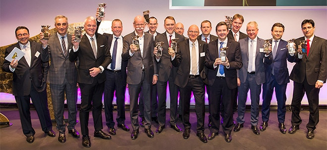 Ausgezeichnete Gewinner: Finanzen-Nacht: Die Gewinner der Goldenen Bullen   Nachricht   finanzen.net