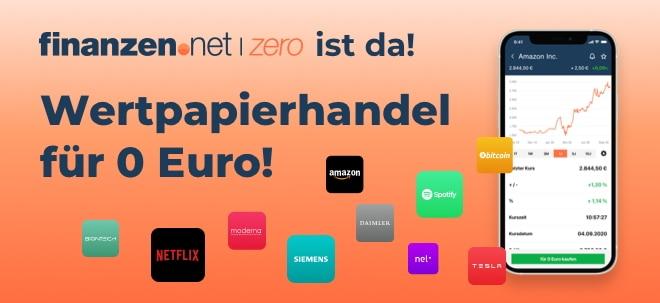 Werbung: Mit finanzen.net zero vollständig gebührenfrei handeln! | Nachricht | finanzen.net