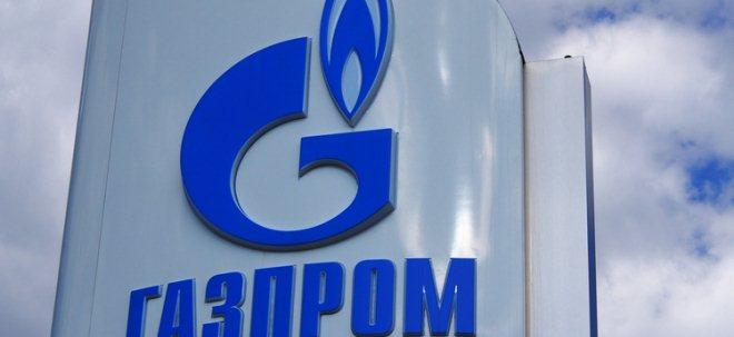 Vorwürfe: Gazprom-Aktie mit Abschlägen: EU-Abgeordnete werfen Gazprom Marktmanipulation vor | Nachricht | finanzen.net