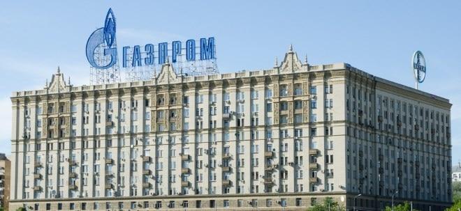GAZPROM Aktie News: GAZPROM behauptet