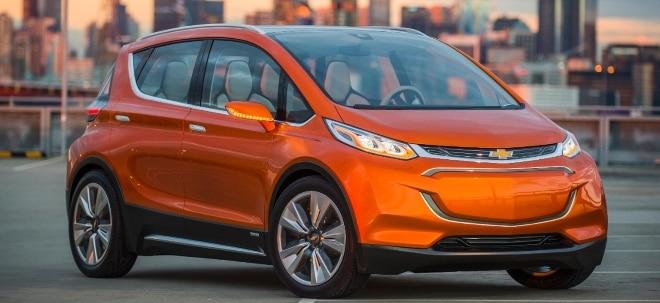 Brandgefahr: GM-Aktie schwächer: General Motors tauscht Batterien in zurückgerufenen Chevy Bolts | Nachricht | finanzen.net