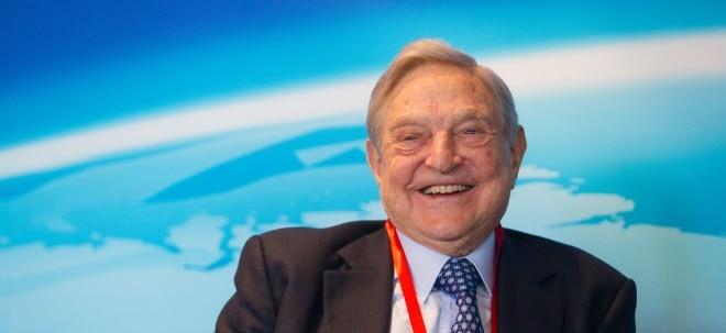Depotanpassungen: 1. Quartal 2018: Das hat Investmentlegende George Soros im Depot