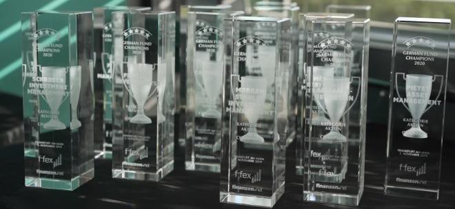 Awardverleihung: German Fund Champions 2020 stehen fest: finanzen.net und f-fex feiern mit den Siegern | Nachricht | finanzen.net