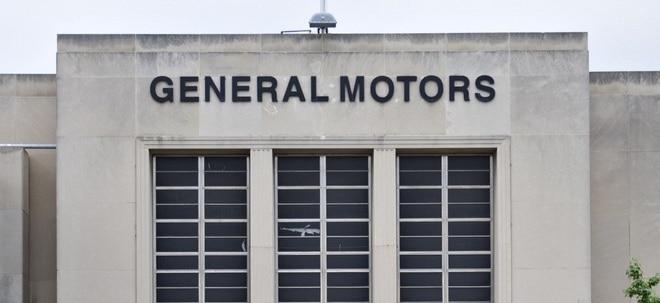 GM-Aktien ziehen weiter an - Vorläufige Einigung über Tarifvertrag
