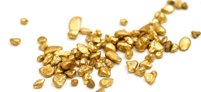 Gold: Tiefster Stand des Jahres