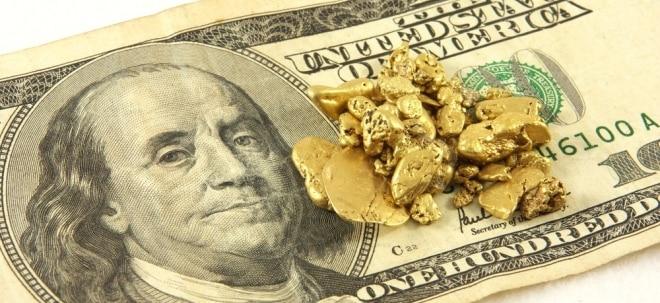 Sicherer Hafen: Goldpreis steigt auf fast 1300 Dollar | Nachricht | finanzen.net