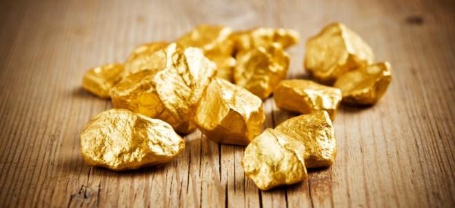 Gold und Rohöl: Gold: Knapp unter Vierwochenhoch | Nachricht | finanzen.net