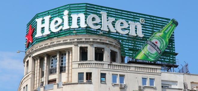 Heineken-Aktie zieht kräftig an: Heineken steigert Gewinn