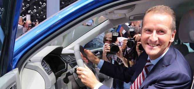 Volkswagen-Aktie: Wie Chef Diess den Börsenwert von VW verdoppeln will