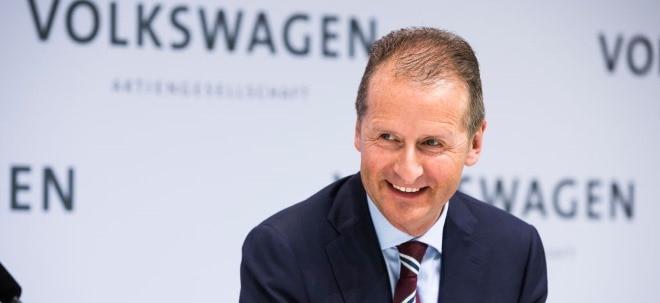 Hohe Kosten: Volkswagen-Chef Diess wirbt für weiteren Umbau des Konzerns - Aktionäre üben Kritik | Nachricht | finanzen.net