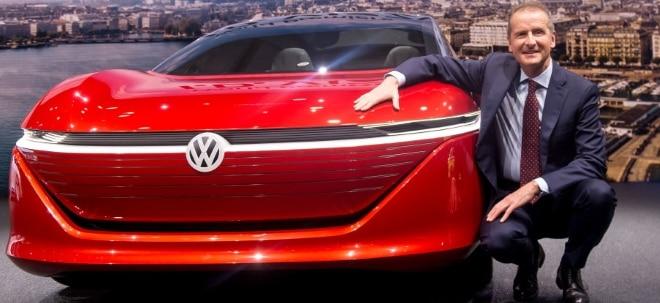 Höhere CO2-Besteuerung: VW-Chef Diess drängt auf Kaufprämie - VW-Aktie deutlich tiefer | Nachricht | finanzen.net