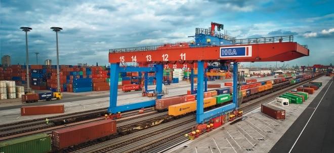 Gespräche: HHLA-Aktie zieht deutlich an: Hamburger Hafen-Chefin macht Bremer Rivalen Eurogate Avancen | Nachricht | finanzen.net