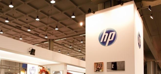 Xerox-Fusion im Fokus: HP-Aktie nachbörslich höher: Gewinneinbruch lässt Anleger kalt