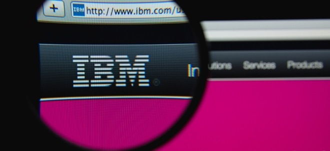 Deutscher Ableger: IBM soll technische Plattform für deutsche E-Rezepte bauen - IBM-Aktie in Grün | Nachricht | finanzen.net
