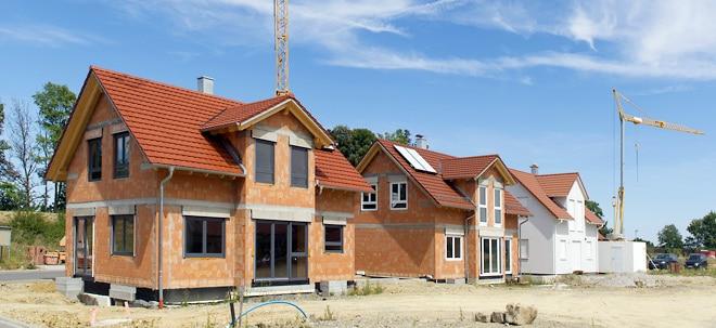 Boom ungebrochen: Immobilienfinanzierung: Mehr als eine Billion fürs Haus | Nachricht | finanzen.net