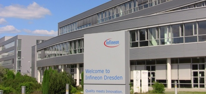 Kursziel gesenkt: Infineon-Aktie verliert: SocGen senkt Infineon auf 'Sell' | Nachricht | finanzen.net