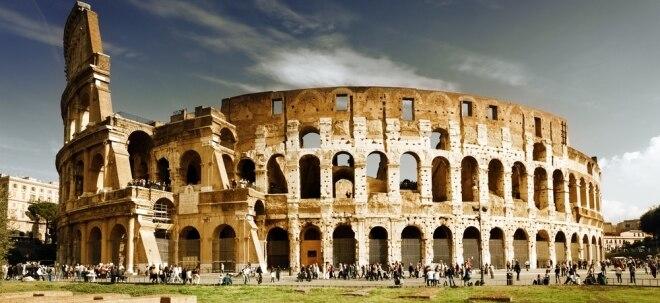 Ratlos in Rom: Streit in Rom: Weshalb Italiens Börse trotz Regierungskrise interessant ist | Nachricht | finanzen.net