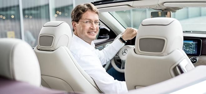 Automanager unter Strom: Daimler: Das ist die neue Route von Daimler-Chef Källenius | Nachricht | finanzen.net