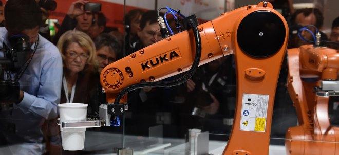 Nun auch KUKA: KUKA-Aktie knickt ein: Umsatzwarnung - Ebit-Marge vor kräftigem Rückgang | Nachricht | finanzen.net