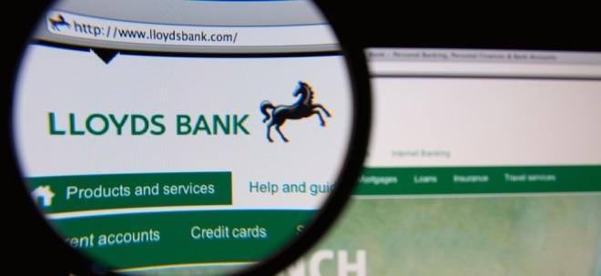 Führungswechsel: Lloyds schnappt sich HSBC-Manager als neuen Chef - Lloyds-Aktie etwas fester | Nachricht | finanzen.net