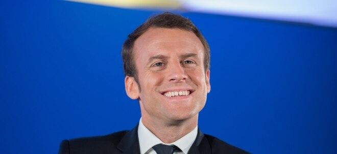 Macron-Welle: Macron geht nach triumphalen Wahlerfolg harte Reformen an | Nachricht | finanzen.net