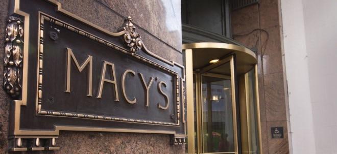 Absatzrückgang: US-Kaufhaus-Aktien im Sturzflug: Macy's bleibt im Krisenmodus | Nachricht | finanzen.net