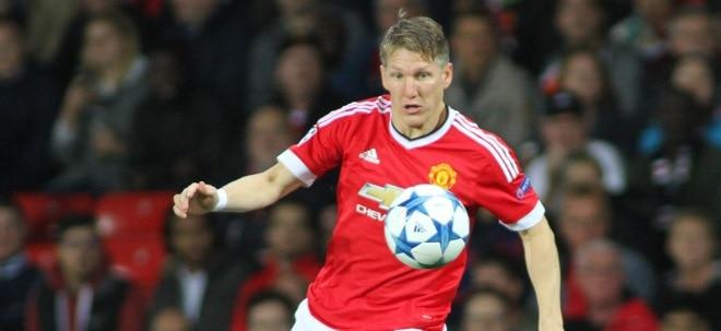Gewinnprognose angehoben: Bei Manchester United rollt der Rubel schneller als der Ball | Nachricht | finanzen.net