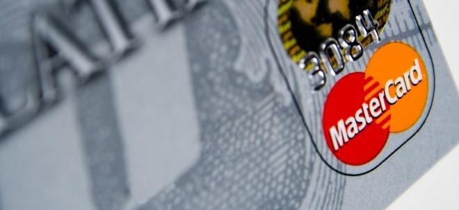 Zweistelliger Zuwachs: Mastercard steigert Gewinn kräftig | Nachricht | finanzen.net