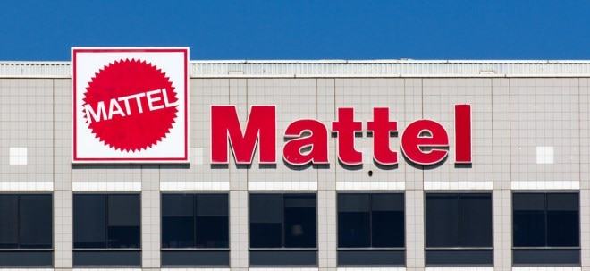 Tiefrote Zahlen: Mattel-Aktie bricht nach schwachen Zahlen ein   Nachricht   finanzen.net