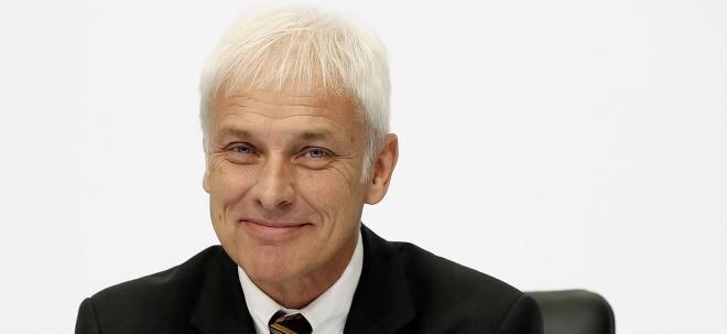 Nachfolger gefunden: Matthias Müller wird wohl neuer VW-Chef | Nachricht ...