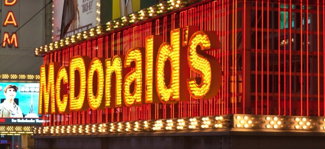 Umsatz gefallen: McDonald's-Aktie leichter: Corona-Krise lässt McDonald's-Gewinn einbrechen | Nachricht | finanzen.net
