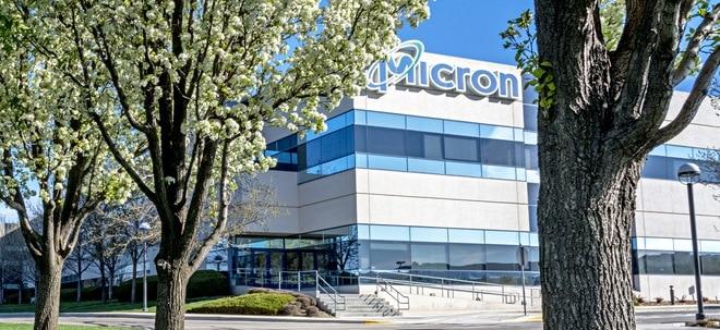 Starke Nachfrage: Chiphersteller Micron Technology steigert Gewinn und Umsatz kräftig | Nachricht | finanzen.net