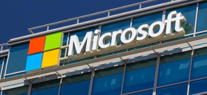 Experten-Erwartungen: Ausblick: Microsoft präsentiert Quartalsergebnisse | Nachricht | finanzen.net