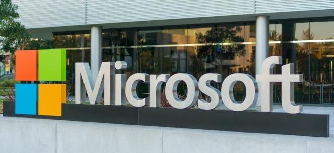 Schätzungen übertroffen: Microsoft-Aktie unbeeindruckt: Microsoft schlägt die Erwartungen