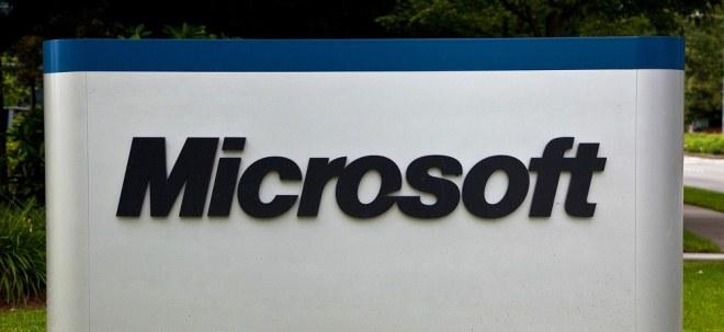 Starke Bilanz: Microsoft verdient deutlich mehr als erwartet - Microsoft-Aktie auf Allzeithoch | Nachricht | finanzen.net