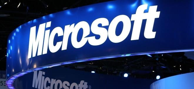 Cloudgeschäft treibt Bilanz: Microsoft-Aktie nach starken Zahlen gefragt - Erwartungen geschlagen