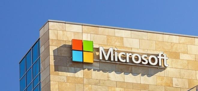 Mehr Gewinn erwartet: Ausblick: Microsoft stellt das Zahlenwerk zum vergangenen Quartal vor | Nachricht | finanzen.net