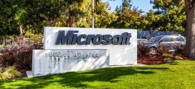 Analysten zuversichtlich: Ausblick: Microsoft zieht Bilanz zum jüngsten Jahresviertel