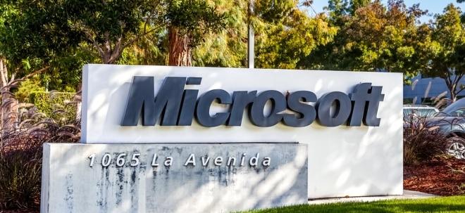 Zahlen veröffentlicht: Auf ganzer Linie überzeugt: Microsoft mit starken Zahlen - Microsoft-Aktie grenzt Gewinne ein | Nachricht | finanzen.net