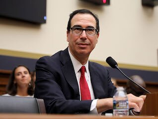 : Mnuchin says Trump doesn't believe he has the right to fire the Fed chair, despite reports saying he has privately discussed the possibility